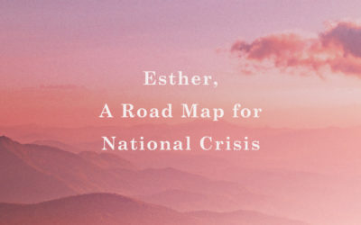 Esther, A Road Map for National Crisis